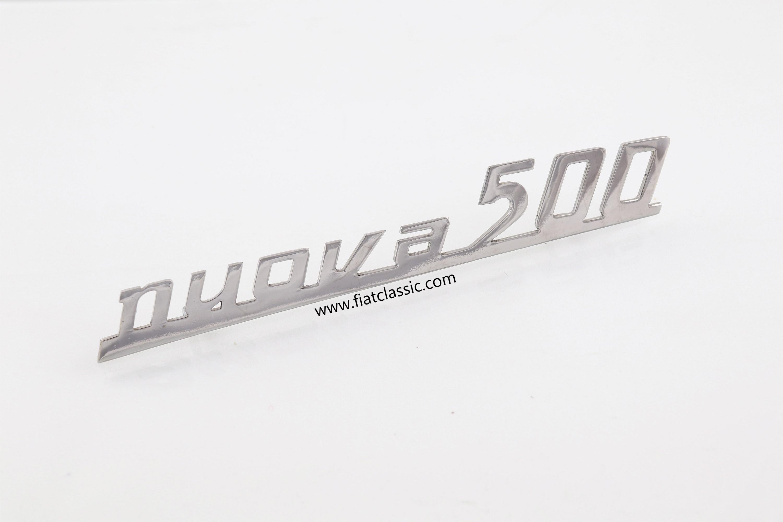 Rear Emblem Nuova Metal Fiat 500 N D Fiat Classic Online Shop