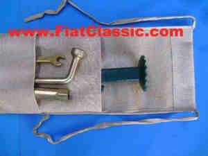 Sac pour cric/outil Fiat 126 - Fiat 500 - Fiat 600