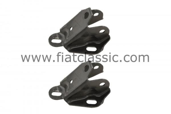 Blocco cuscinetti per forcelloni ruota posteriore (coppia) Fiat 126 - Fiat 500