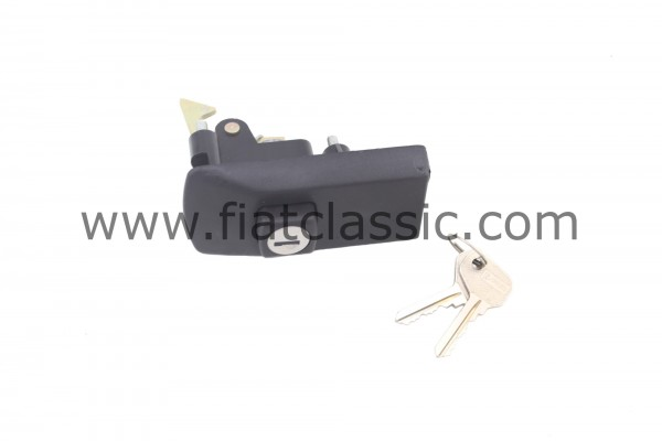 Tailgate lock Fiat 126 (1st and 2nd series)