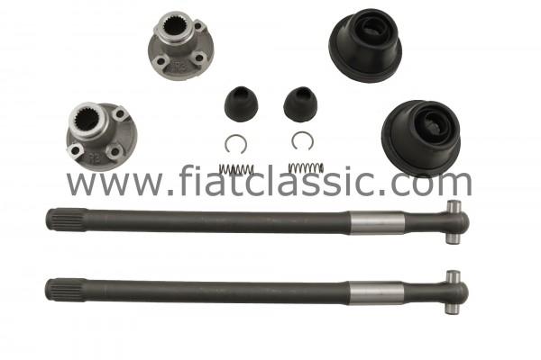 Drive shaft set 24mm Fiat 500 F/L/R top quality