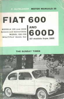 Engine Manual Fiat 600