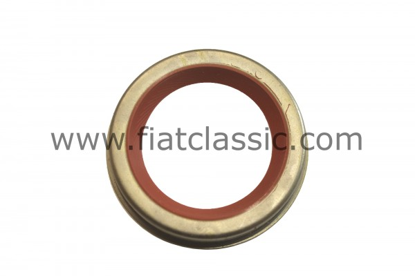 Front crankshaft seal in silicone 66/62 x 45 x 10 mm Fiat 126 - Fiat 500