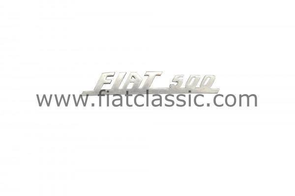 Emblème Fiat 500 112x19mm