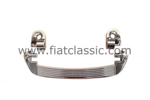 Poignée de traction chromée Fiat 126 - Fiat 500 - Fiat 600 - Fiat 126