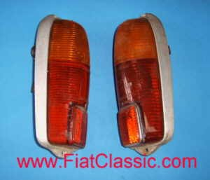 Pair of rear lights Fiat 500 Giardiniera