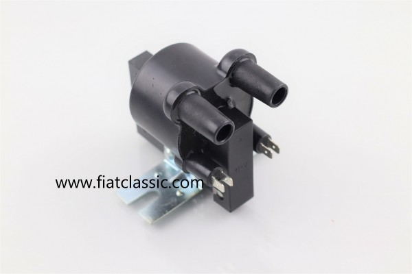 Double ignition coil (series resistor A6857 at terminal 16 necessary) Fiat 126 - Fiat 500